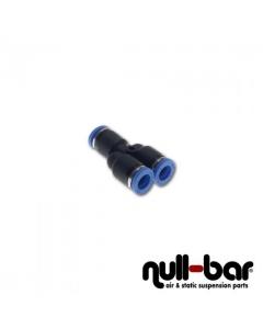 Y-Verbinder Steck - 4mm Steck / 4mm Steck