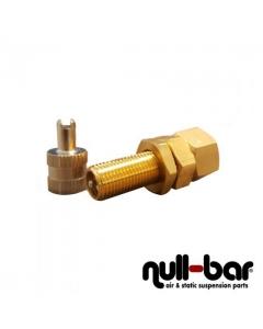 Emergency filling valve for 6mm tube