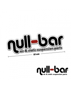 null-bar Sticker