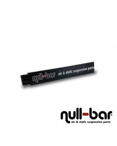 null-bar folding ruler
