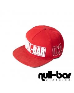 null-bar snapback red