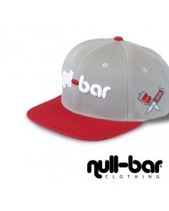 null-bar Snapback grey