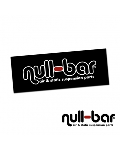 Null-bar Shop Banner 244cm x 92cm