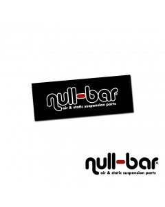 Null-bar Shop Banner 122cm x 46cm