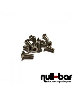Screws for air bellow - countersunk 6x20 torx