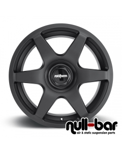 Rotiform SIX | 8,5x19 ET 45 - 5x112 66,6 matt black