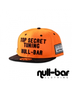 null-bar & Top Secret Tuning Snapback orange