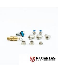 Tank connection kit for STREETEC tankbomb 1/2