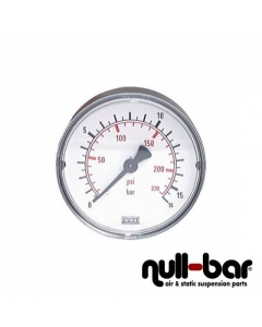 Pressure gauge 0-16 bar - 63mm