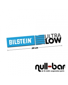 Bilstein Ultralow sticker