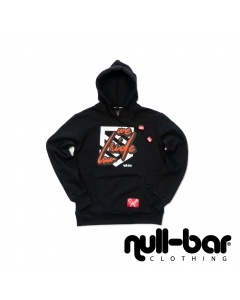 null-bar 'we ride low' Hoodie