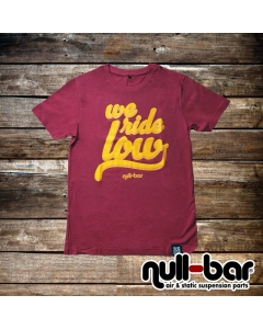 null-bar 'we ride low' T-Shirt
