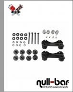 Antivibration kit - Viair / FAHRWairK compressors - sideways